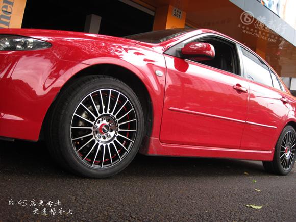 红色旋风 宁波马六轿跑改装雅泛迪s911高清图片