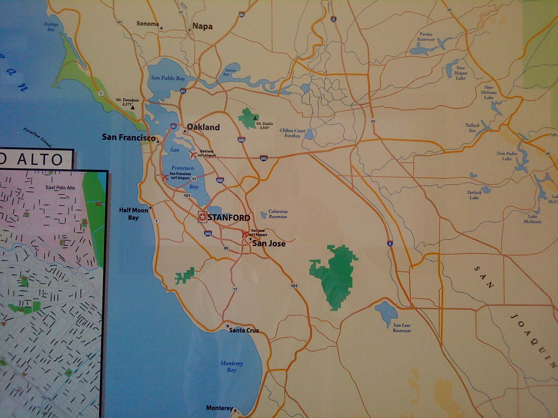 美国三藩市地图