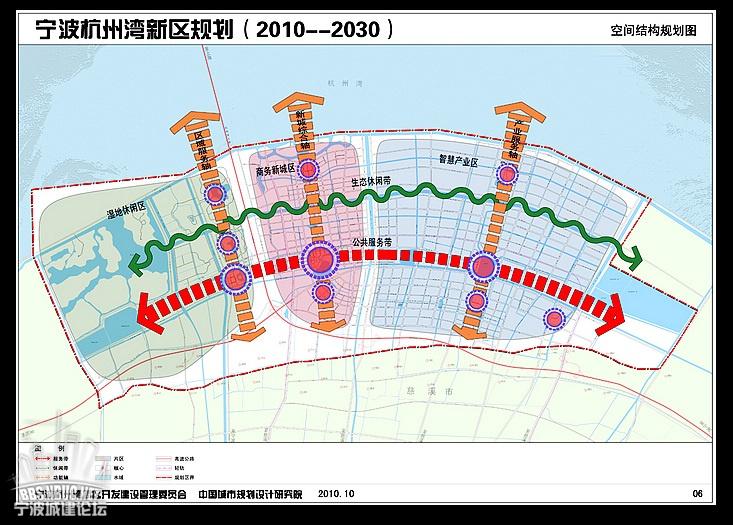 宁波杭州湾新区总体规划(2010-2030)|『 关注慈溪 』