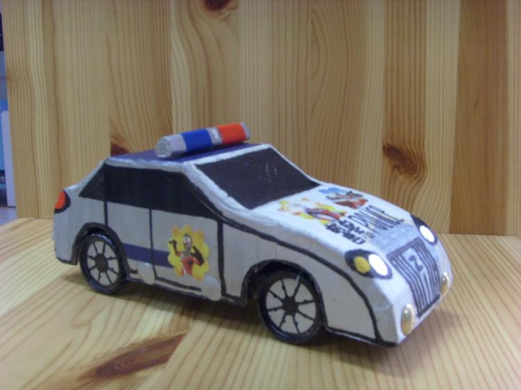 八年级手工制作汽车