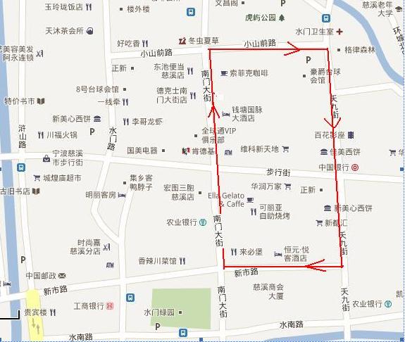 慈溪市浒山地图