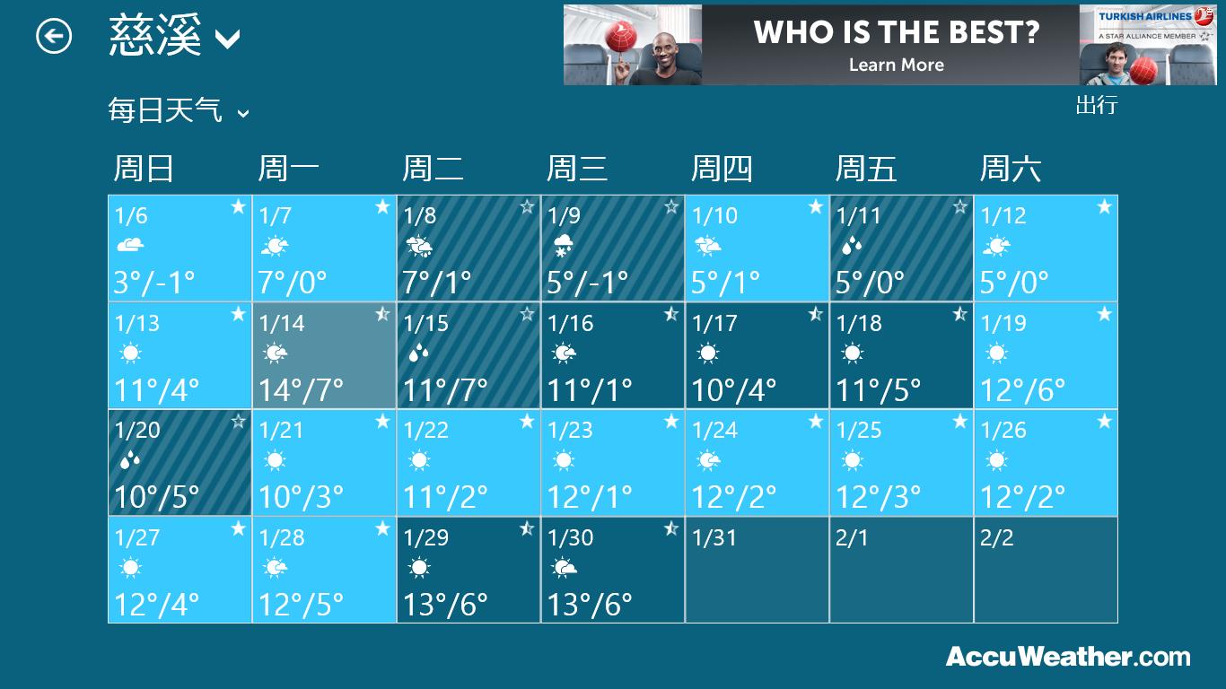 天预报_慈溪十五天天气预报