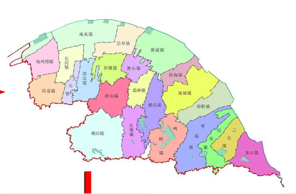 慈溪浒山路地图