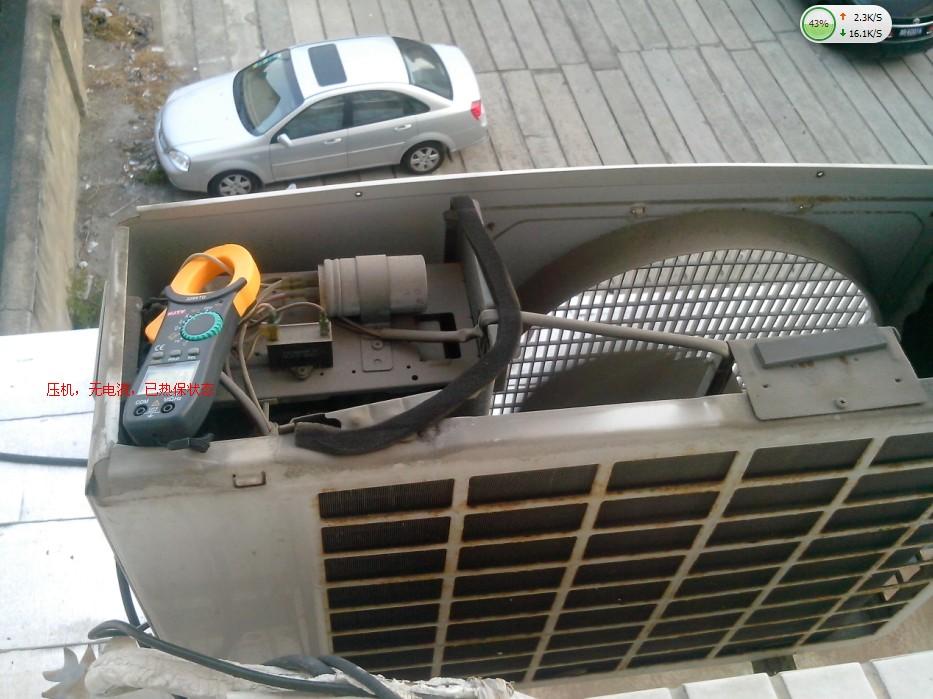 空调压机电容接线图