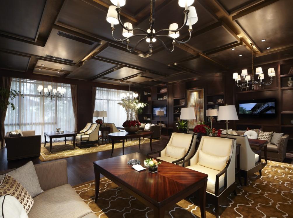 高端会所室内设计获奖作品 易和设计彰显大雅之堂