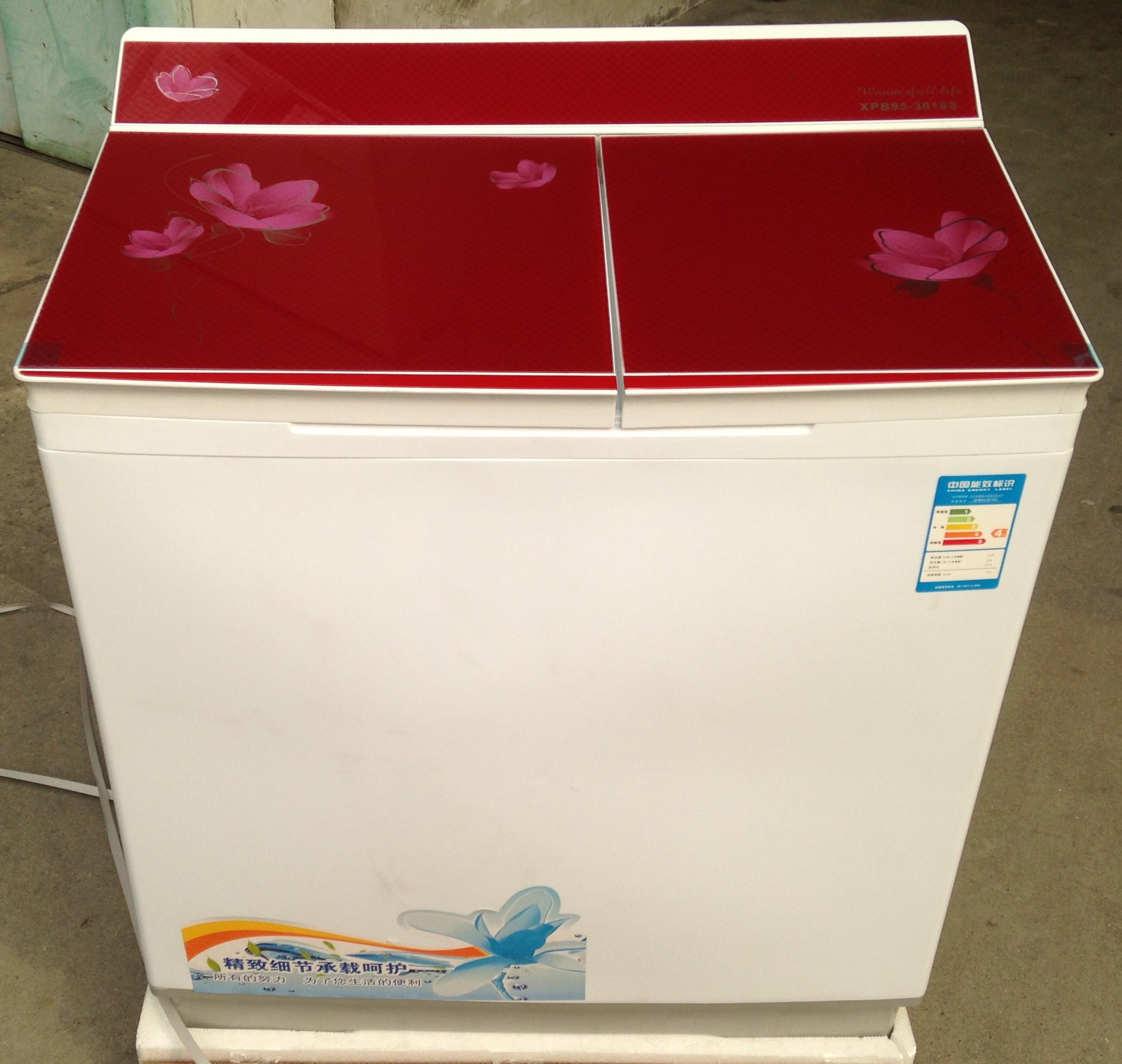 5公斤双桶洗涤脱水两用半自动洗衣机