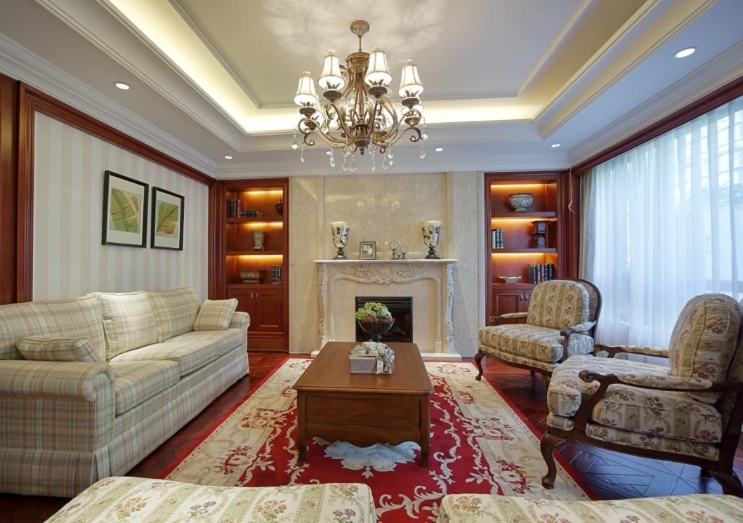 美式风格室内设计 随性的贵气不羁的复古