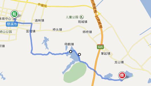 慈溪鸣鹤古镇地图