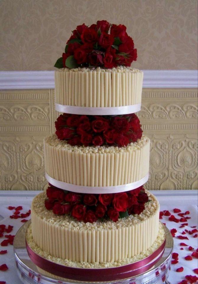 婚礼甜品桌,多层蛋糕