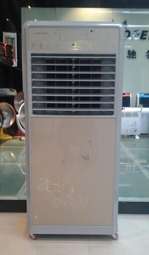 品牌骆驼,配钢化玻璃,机身铁板 高度1米30的机械工业冷风机 680一