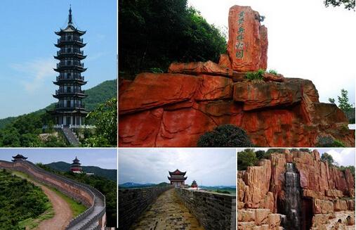 com海上长城森林公园旅游区位于宁波市奉化黄贤村,景区三面环山,一面
