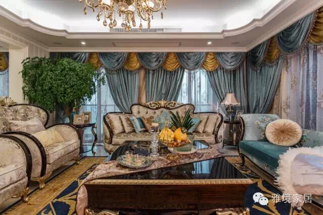杭州软装饰设计 独爱欧式新古典之奢华风格