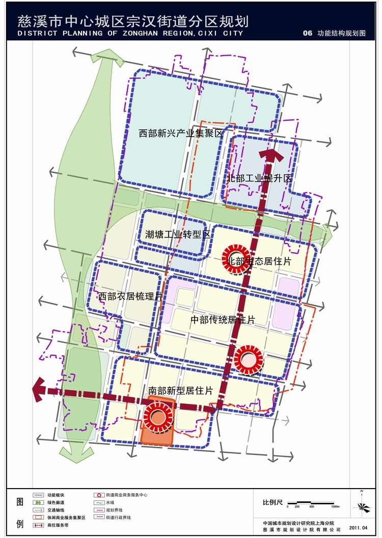 慈溪市区街道地图