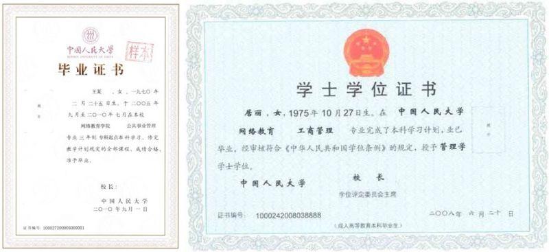 (人民大学网络教育远程学习计划答案ppt图1) 中国人民大学网络教育的