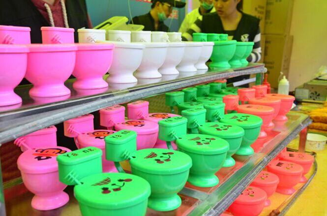 马桶冰淇淋:马桶!这酸爽!