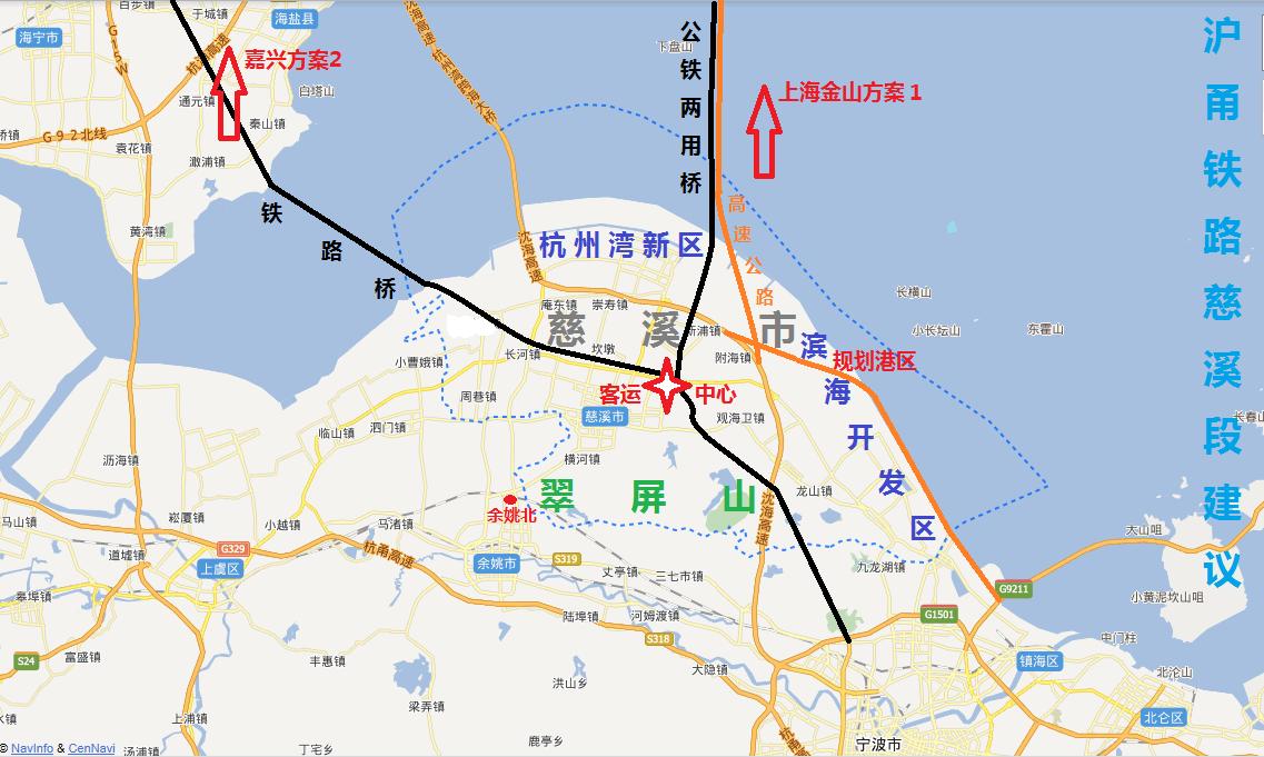 慈溪桥头镇地图