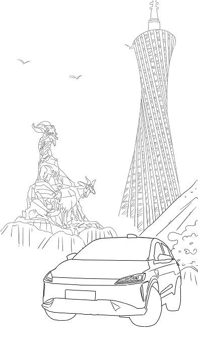 【手绘漫画】羊城中绽放的万里鹏程
