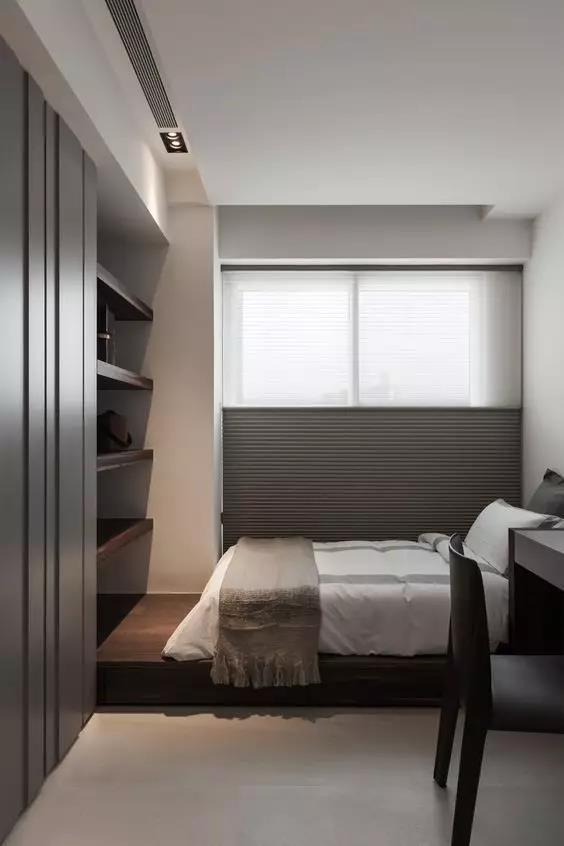 小房间千万别买床!现在流行这样的,实用又漂亮!图片