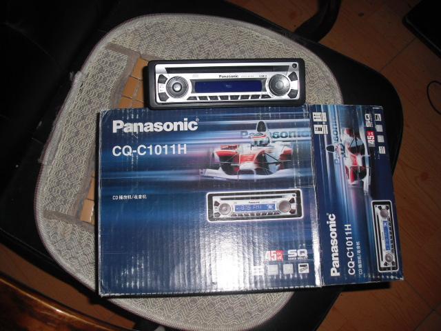 出汽车松下cd机和套装喇叭,功放,低音炮mp5高清图片