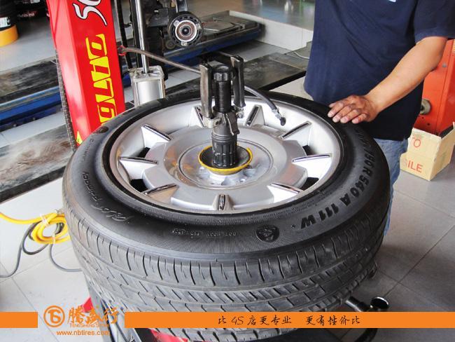 第一次亲密接触 宁波劳斯莱斯幻影轮胎拆装记 高清图片