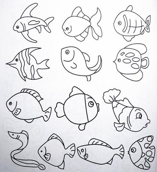 儿童简笔画,跟孩子一起每天画一画吧
